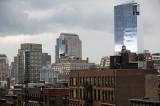 Approaching Showers - Downtown Manhattan