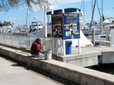 Fisherman Receives a Call