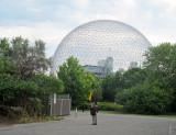 Bird Watcher at the Biosphere