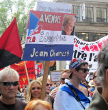 Quebec Government Protest March - Montreal