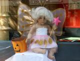 Halloween Window on West 10th Street