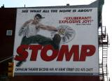 STOMP Billboard at 7th Avenue