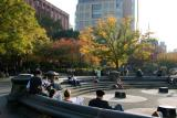 Fall at the Fountain