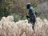 Gandhi & Pampas Grass