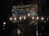 Hanukkah Candles & Arch