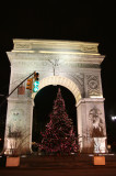 Christmas Tree at the Arch