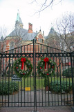 Garden Gate Wreaths & NYC Public Library