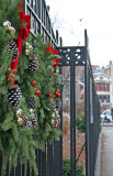 Garden Gate Wreaths & Greenwich Avenue Sidewalk