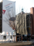 Delta Air & St Anthony's Church House in Wraps