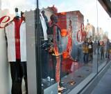 adidas Window Reflections