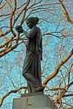 Temperance Statue