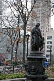 Woman & Children Statue