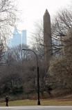 Cleopatra's Needle Obelisk & Southern Skyline