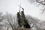 Polish King Jagiello near the Great Lawn