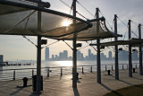 Christopher Street Pier with Jersey City Skyline