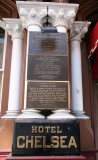 Chelsea Hotel Historical Markers