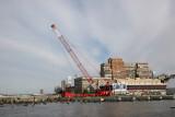 Chelsea Pier Construction - North View