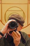 Chelsea Pier - Self Portrait in Hotel Lobby