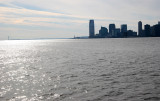 Chelsea Pier View of Jersey City & Hudson River Port