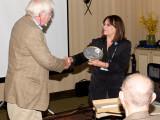 George Burden,  the Tesla Science Foundation and Jane Alcorn, President Tesla Science Center at Wardenclyff
