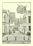 Calçada da Igreja de S. Lázaro 瘋堂斜巷