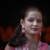 Bollywood dancer...