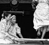 Filipino bamboo dance...