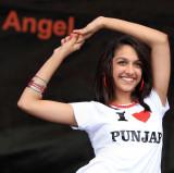 Indian Angel celebrates bollywood dance...