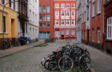 side street (closed for cars),  Hamburg-Altona