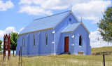 The Blue Church..Wesley Chapel..1876