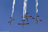 4290039338_522cd2536b Israel Air Force  Aerobatic team_ flying the  Fouga CM-170 Magister Tzukit_M.jpg