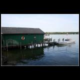 ... walking around the lake ...