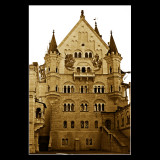 ... inside Neuschwannstein Castle halls ...