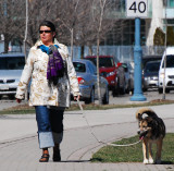 Another Lady with a Dog