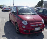New Fiat 500 - first one I've seen here