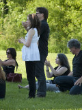 Fan 4 at the opening ofJeff Healey Park