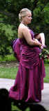 The Bridesmaid in typically ugly dress