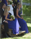 --- and back at the wedding
