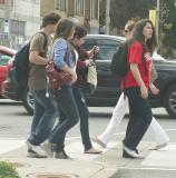 At the crosswalk 2