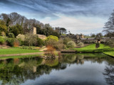 Dyrham Park in Spring