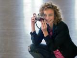 Erin and my Leica iiig