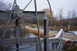 Floodgate Wheel at the Mill pond