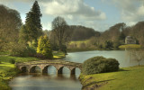 Stourhead on a early spring morning