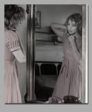 Erin in the mirror