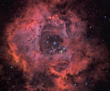 The Rosette Nebula HaR(Ha)GB