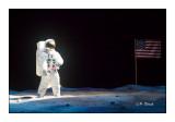 US Flag on the moon - 2881