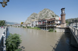 Along the river in Amasya