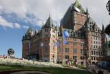 Frotenac castle in Quebec