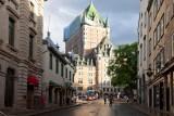 Frontenac Castle in Quebec