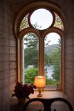 from inside the Lysoen Villa